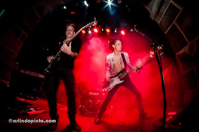 Fotografia dos GAZUA no Musicbox