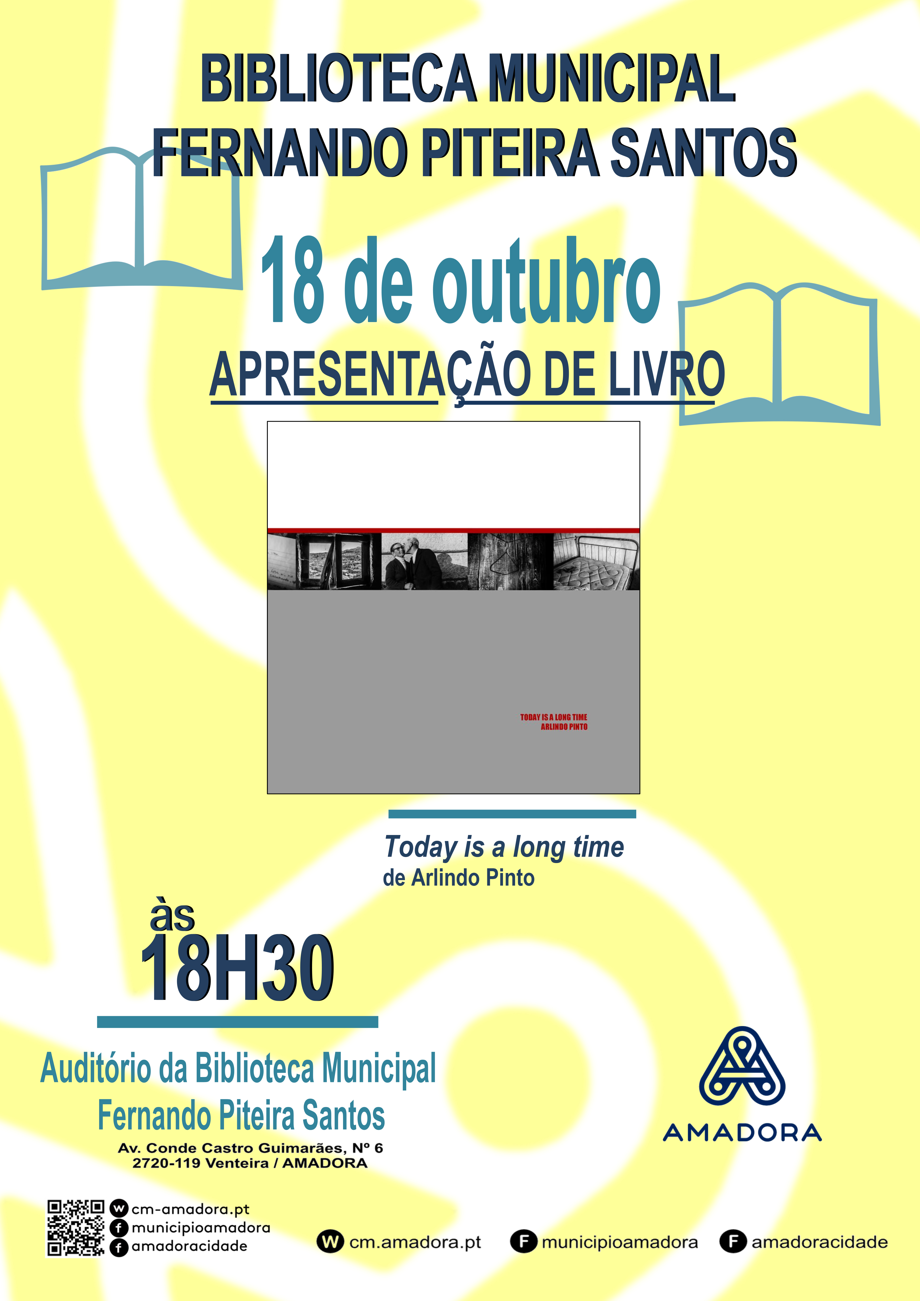 arlindo pinto-today is a long time