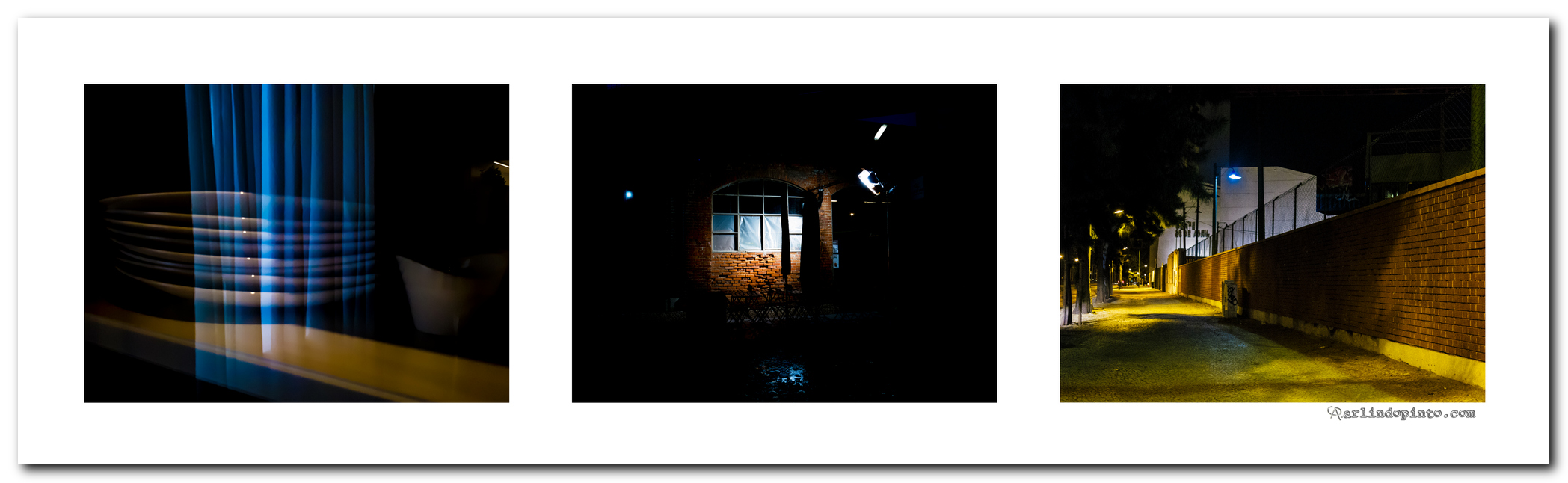 Tríptico de na Luz Encontro Abrigo
