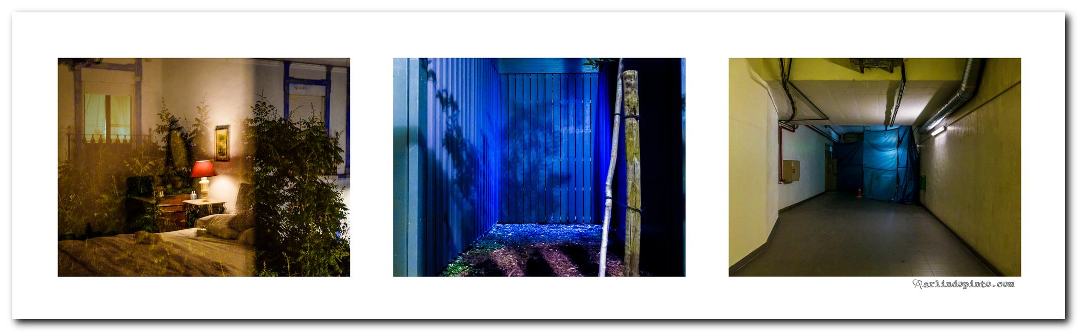 """Triptico a partir da obra de Ricardo Neves-Neves """"A Porta Fechou-se e a Casa era Pequena"""""""